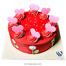 Waters Edge Velvet Love Cakeat Kapruka Online for cakes
