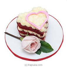 Cinnamon Grand Red Velvet Love Cakeat Kapruka Online for cakes