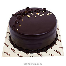 Java Eggless Chocolate Cake at Kapruka Online