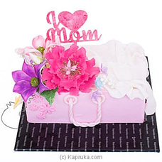 Flower Purse Mother`s Day Ribbon Cakeat Kapruka Online for cakes