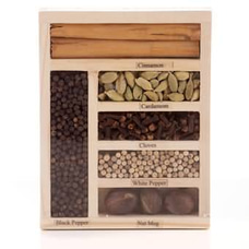 Assorted Sri Lankan Spices Pack In Woodenat Kapruka Online for cross_border