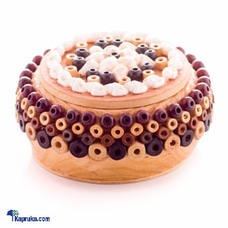 Jewelry Box Handmade With Shells - Roundat Kapruka Online for cross_border