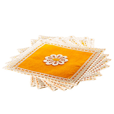 Handwoven Small Place Mat Stain Resistant Washable Table Mat Set Of 6at Kapruka Online for cross_border