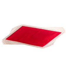 Beeralu Decorated Table Mat Set of six pieces(red)at Kapruka Online for cross_border