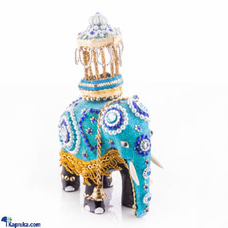 Hand Crafted Elephant With Casketat Kapruka Online for cross_border