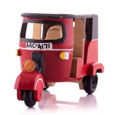 Wooden Three Wheel Toy (Red)at Kapruka Online for cross_border