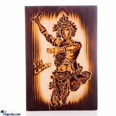 Kandyan Dancer Burn Art at Kapruka Online