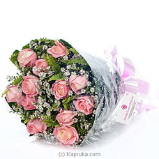 Sterling Flowers  Bunch Of Pink Roses at Kapruka Online