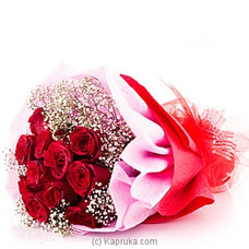 Because You Love Me flower bouquet at Kapruka Online