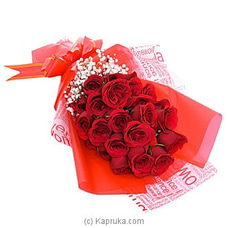 Charm Of Roses VALENTINE,BOUQUET,REDROSES at Kapruka Online