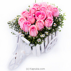 Rosy Moon Beams By Flower Republic at Kapruka Online for flowers