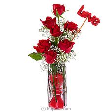 Light Of My Life- Mix Of Red Roses For Valentines at Kapruka Online