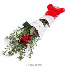 Memories Of Love Red Rose For Valentines at Kapruka Online