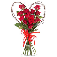 Heir To A Genuine Heart- Mix Of Red Roses at Kapruka Online