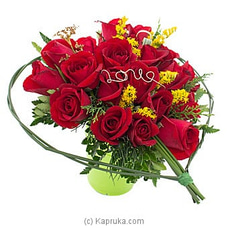 Realm Of Roses- Mix Of  20 Red Roses By Flower Republic at Kapruka Online for flowers
