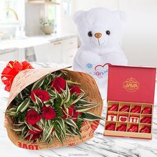 Magical Love Gift Pack For Valentines By Flower Republic at Kapruka Online for flowers