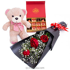 It`s My Pleasure Gift Pack By Flower Republic at Kapruka Online for flowers