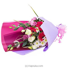 The Beauteous- A Mix Of Lisianthus, Gerberas And Chrysanthemums.at Kapruka Online for flowers