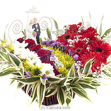 Wedding Couple Arrangement By Flower Republic at Kapruka Online for flowers