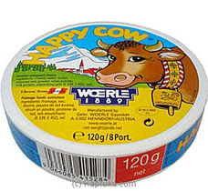 Happy Cow Cheese - 120g (8 Portions) at Kapruka Online