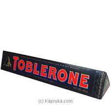 Toblerone Swiss Dark Chocolate With Honey And Almond Nougat - 100g at Kapruka Online