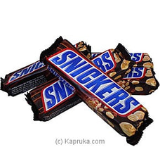 5 Pack Of Snickers Chocolates (50g X 5 = 250g) at Kapruka Online
