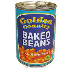 Baked Beans Tomato Sauce Tin 420g By Golden Country at Kapruka Online for specialGifts