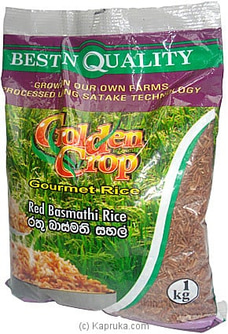 1 Kg Red Basmathi Rice Pkt By CIC at Kapruka Online for specialGifts