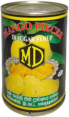 MD - Mango Slices In Sugar Syrup Tin - 560g By MD at Kapruka Online for specialGifts