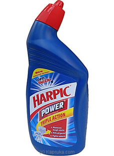 Harpic - Power Toilet Cleaner (Blue) Bottle - 500ml at Kapruka Online