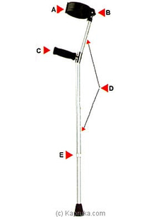 Forearm Crutches (Walking Aids) FS933l at Kapruka Online