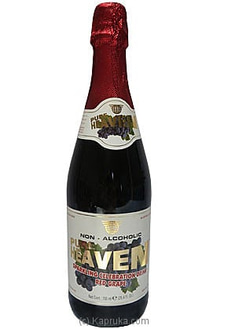 Pure Heaven Sparkling Red Grape Drink Bottle - 750mlat Kapruka Online for specialGifts