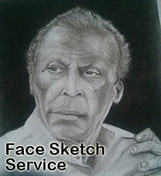 Face Sketch Service at Kapruka Online