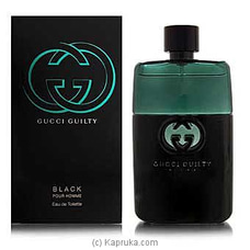 Gucci Guilty Black Pour Hommy -  - 50mlat Kapruka Online for specialGifts