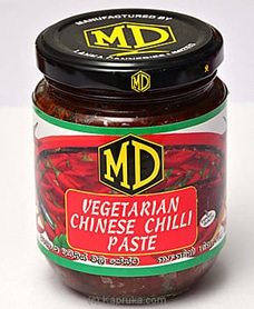 MD Vegetarian Chinese Chilli Paste - 270 G By MD at Kapruka Online for specialGifts