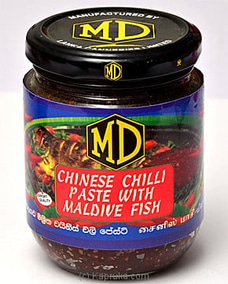 MD Chinese Chilli Paste With Maldive Fish - 270g By MD at Kapruka Online for specialGifts