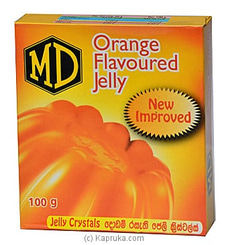 MD Orange Flavoured Jelly -100g at Kapruka Online