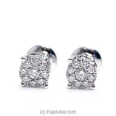 18k White Gold Earring Set (REH 01) By Alankara at Kapruka Online for specialGifts