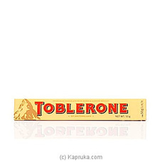 Toblerone Milk Chocolate -50g at Kapruka Online