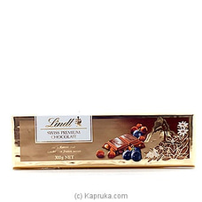 Lind Swiss Premium Chocolate Milk Raisin Nut - 300g By LINDT at Kapruka Online for specialGifts