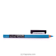 Maybelline Color Show Crayon Khol -Turquoise Flashat Kapruka Online for specialGifts