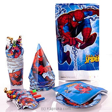 Spider Man Party Packat Kapruka Online for specialGifts