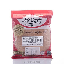Mc Curry Coriander Powder 120g By Mc Currie at Kapruka Online for specialGifts