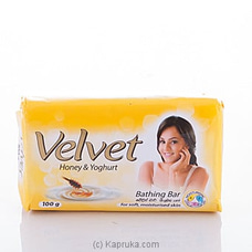 Velvet Honey and Yoghurt Soap 100g By Velvet at Kapruka Online for specialGifts