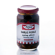 Mc Currie Garlic Pickle 375g By Mc Currie at Kapruka Online for specialGifts