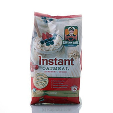 Captain Oats Instant 200g By Captain Oats at Kapruka Online for specialGifts