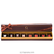 `With Love` 8 Piece Chocolate Box(GMC) at Kapruka Online