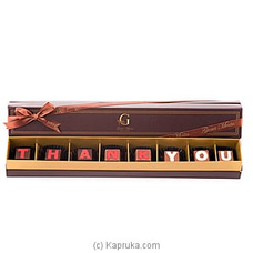 `Thank You` 8 Piece Chocolate Box(GMC) By GMC at Kapruka Online for specialGifts