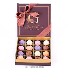 16 Piece Chocolate Truffle Box(gmc) at Kapruka Online