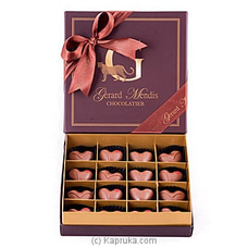 Hearts 16 Piece Chocolate Box(GMC) By GMC at Kapruka Online for specialGifts